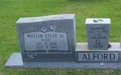 William Kyzar Billy Alford, Sr