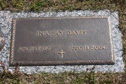Ina Fay <i>Lewis</i> Davis
