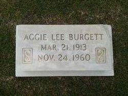 Aggie Lee <i>Tayler</i> Burgett