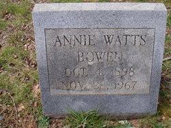 Annie <i>Watts</i> Bowen