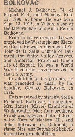 Michael J. Bolkavac