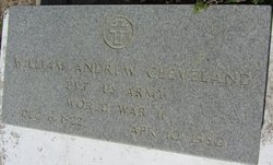William Andrew W.A. Cleveland