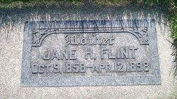 Jane <i>Hodson</i> Flint