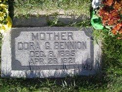 Dora Araminta <i>Goff</i> Bennion