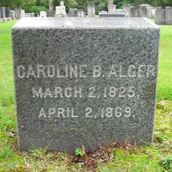 Caroline Belinda <i>Dean</i> Alger