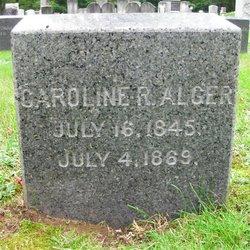 Caroline <i>Richmond</i> Alger