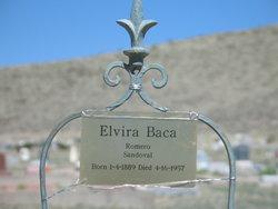 Elvira <i>Baca</i> Sandoval