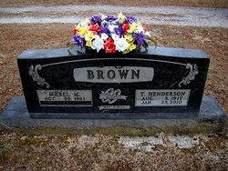 Thomas Henderson Brownie Brown