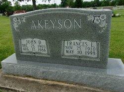 Frances L Akeyson