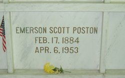 Emerson Scott Poston