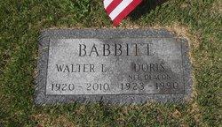 Walter Lee Babbitt