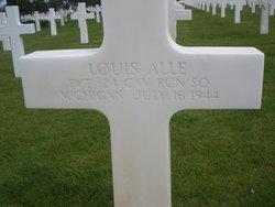 Pvt Louis Alle