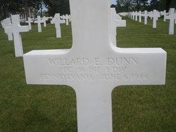 PFC Willard Earl Dunn
