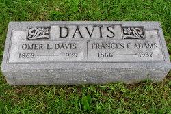 Frances Elizabeth <i>Davis</i> Adams
