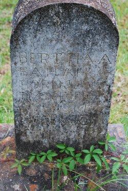 Bertha A Baham