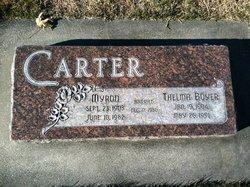 Myron Bill Carter