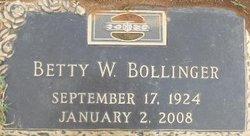 Betty Jean <i>Willett</i> Bollinger