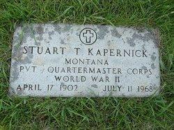 Stuart F Kapernick