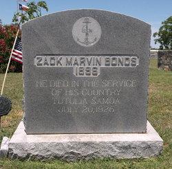 Zack Marvin Bonds