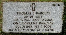 Ona Darlene <i>Gjerman</i> Barclay