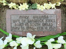 Mary Spencer <i>Williams</i> Jones