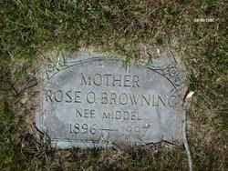 Rose Octavia <i>Middel</i> Browning
