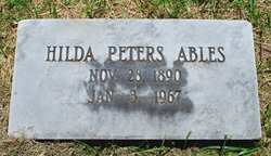 Hilda Peters Ables
