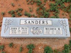 Mildred M. Sanders