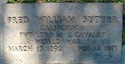 Fred William Sutter