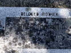 Esther Madeline <i>Hess</i> Birman