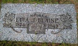 Etta J Blaine