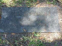 Iola R. Peebles