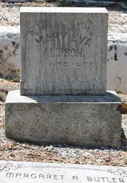 Mary Eva <i>Chapman</i> Allison