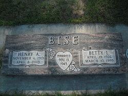 Henry Alexander Bise