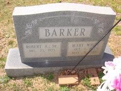 Robert Aldridge Barker, Sr
