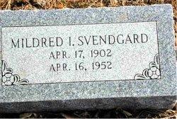 Mildred Irene <i>Blomberg</i> Svendgard