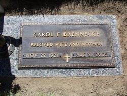 Carol Frances <i>Northup</i> Brennecke