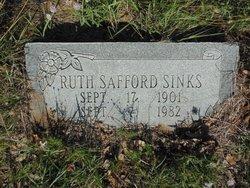 Ruth <i>Safford</i> Sinks