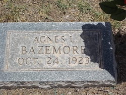 Agnes L Bazemore