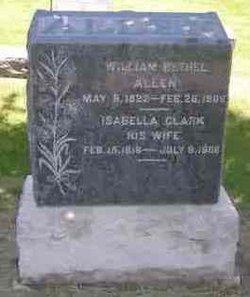 Isabella Clark <i>Beattie</i> Allen