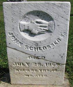 John Schlosser, Sr