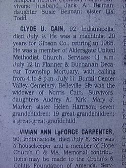 Clyde U. Cain