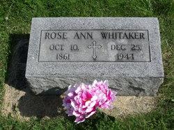 Rose Ann <i>Deweese</i> Whitaker