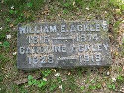 Caroline <i>Choate</i> Ackley