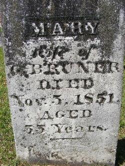 Mary <i>Davis</i> Bruner