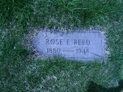 Rose E <i>Schlegel</i> Reed