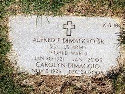 Alfred F DiMaggio, Sr