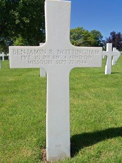 Pvt Benjamin Burnett Nottingham