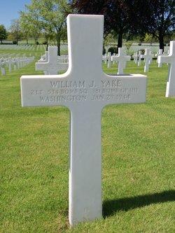2Lt William J Yake