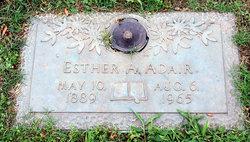 Esther A. Adair